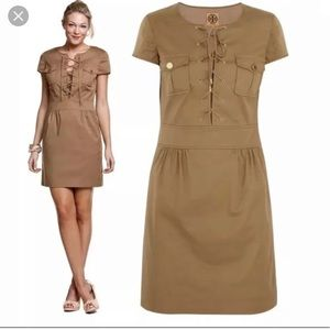 Tory Burch Khaki Lacey Dress